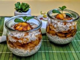 Milchreis mit Chia-Samen und Walnüssen Rezept