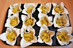 Blätterteig Muffins mit Mango-Kokos-Creme 9