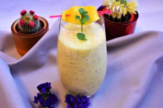 Mango Milchshake Rezept