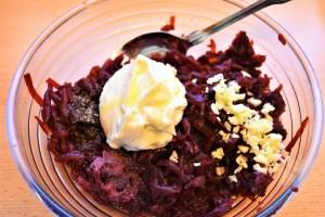 Rote Bete Salat Zubereitung