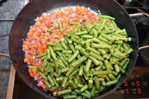 Grüne Bohnen Auflauf
