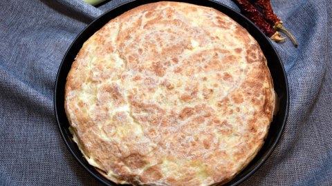 Tortilla Kuchen auf mazedonische Art