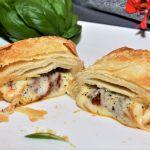 Mozzarella im Filoteig Rezept