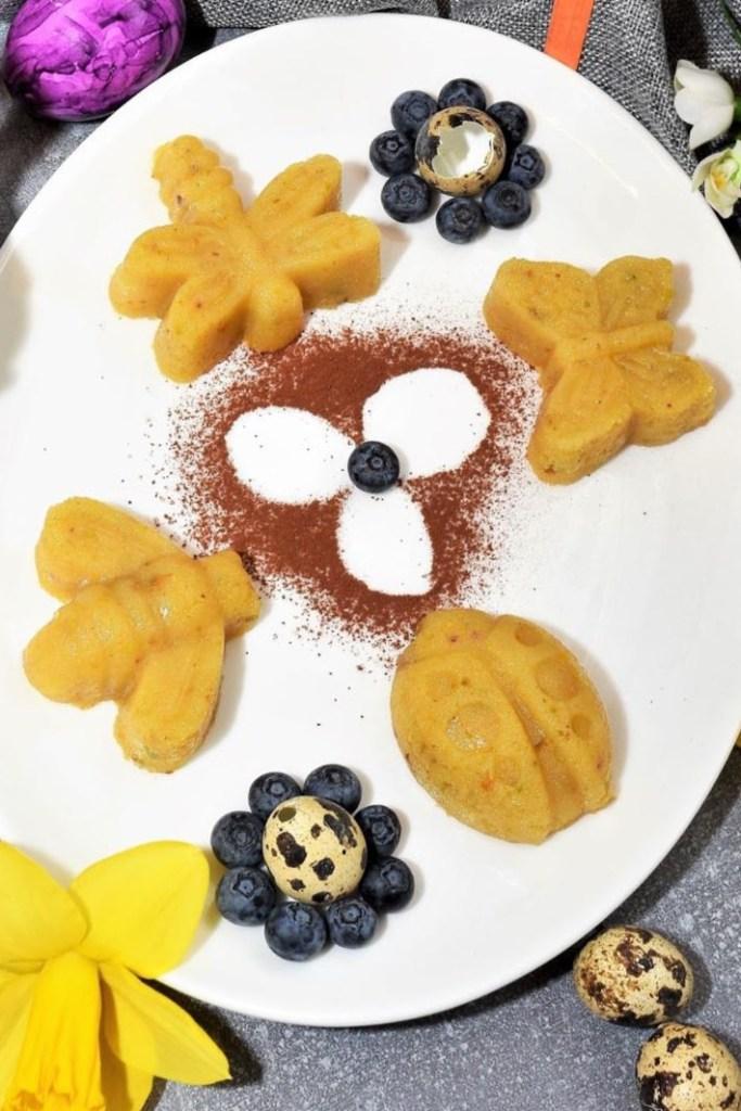 Osterküchlein mit Grieß-ohne Backen-Oster Rezepte-ballesworld