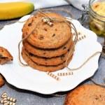 Bananen Cookies Rezept mit Bananen Mehl