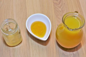 Ananas Apfelessig Drink
