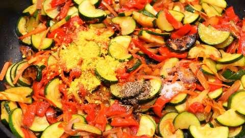Gnocchi-mit-gebratenem-Gemüse