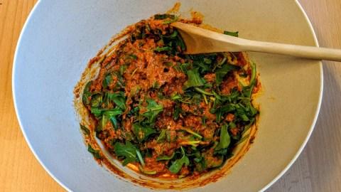 Gnocchi Salat mit gebratenem Gemüse Schritt 6