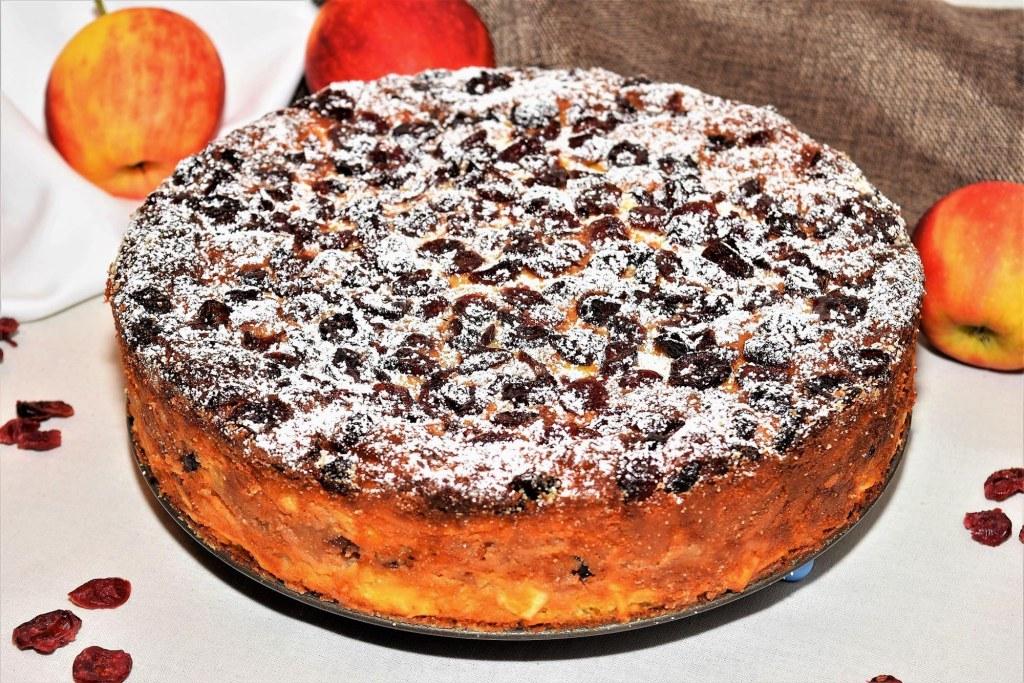 Aüfel-Nudel Kuchen mit Calvados