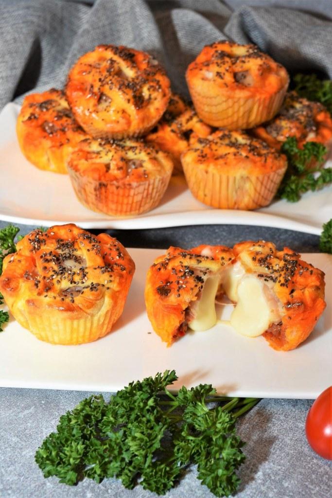 Muffins mit Nduja Snacks Rezept