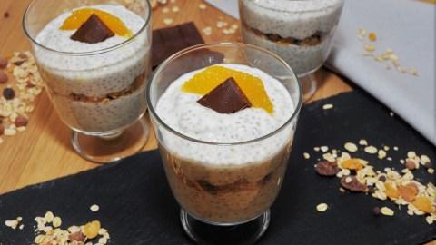 Orangen Chia Dessert