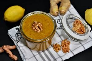 Zitronen-Ingwer-Honig Creme
