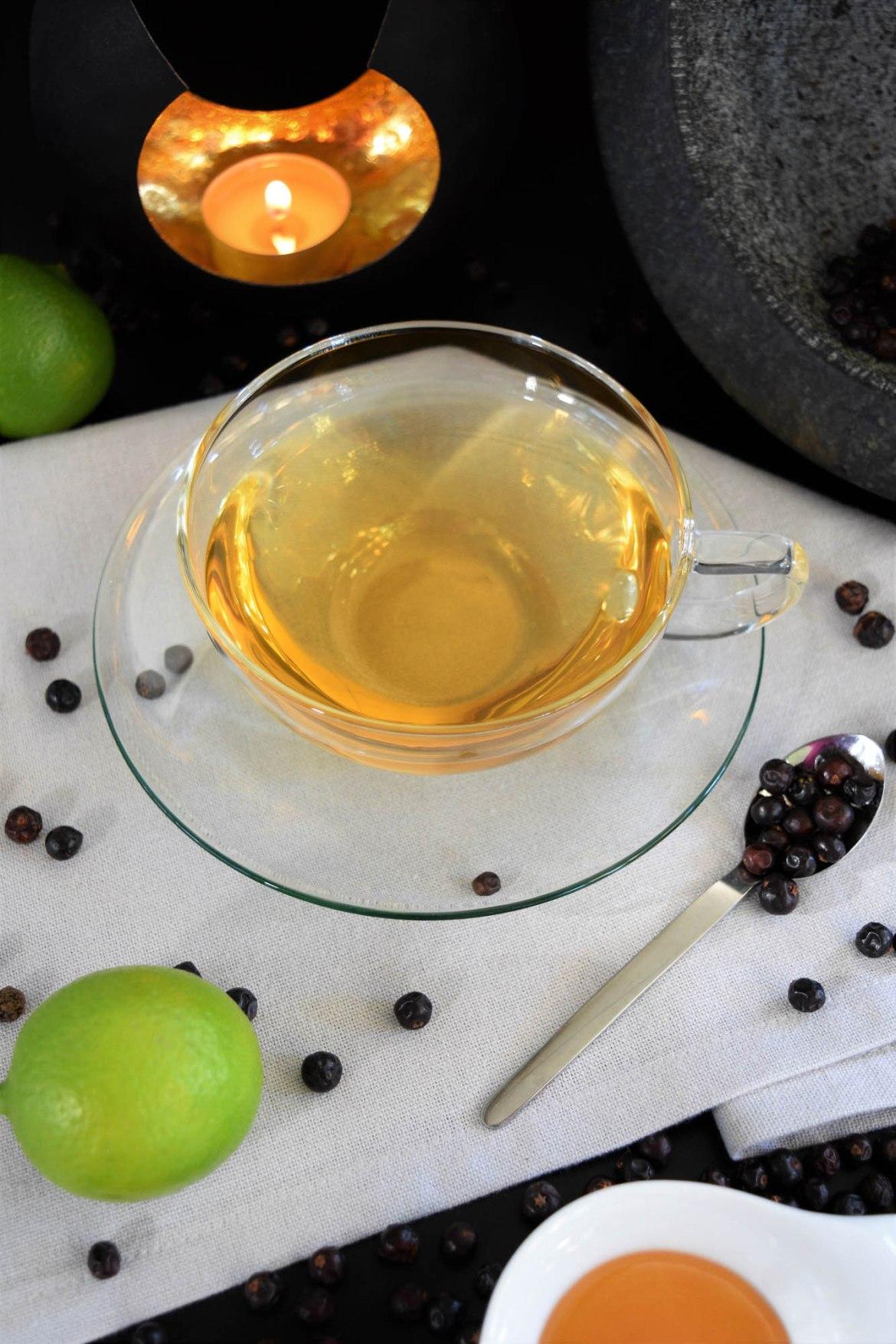 Wacholder Tee Rezeptidee