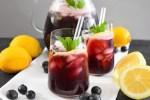 Aronia Limonade mit Heidelbeeren-Rezept-BallesWorld