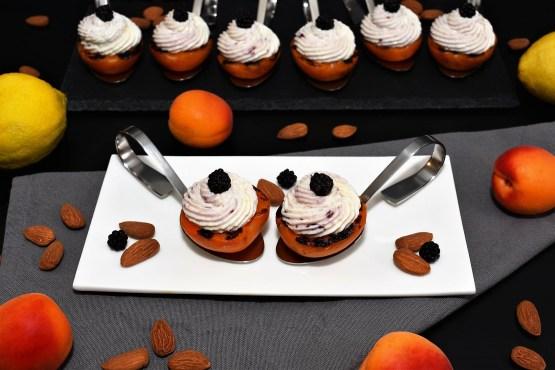 Grill Aprikosen mit Ricotta und Mandeln-Rezept-BallesWorld