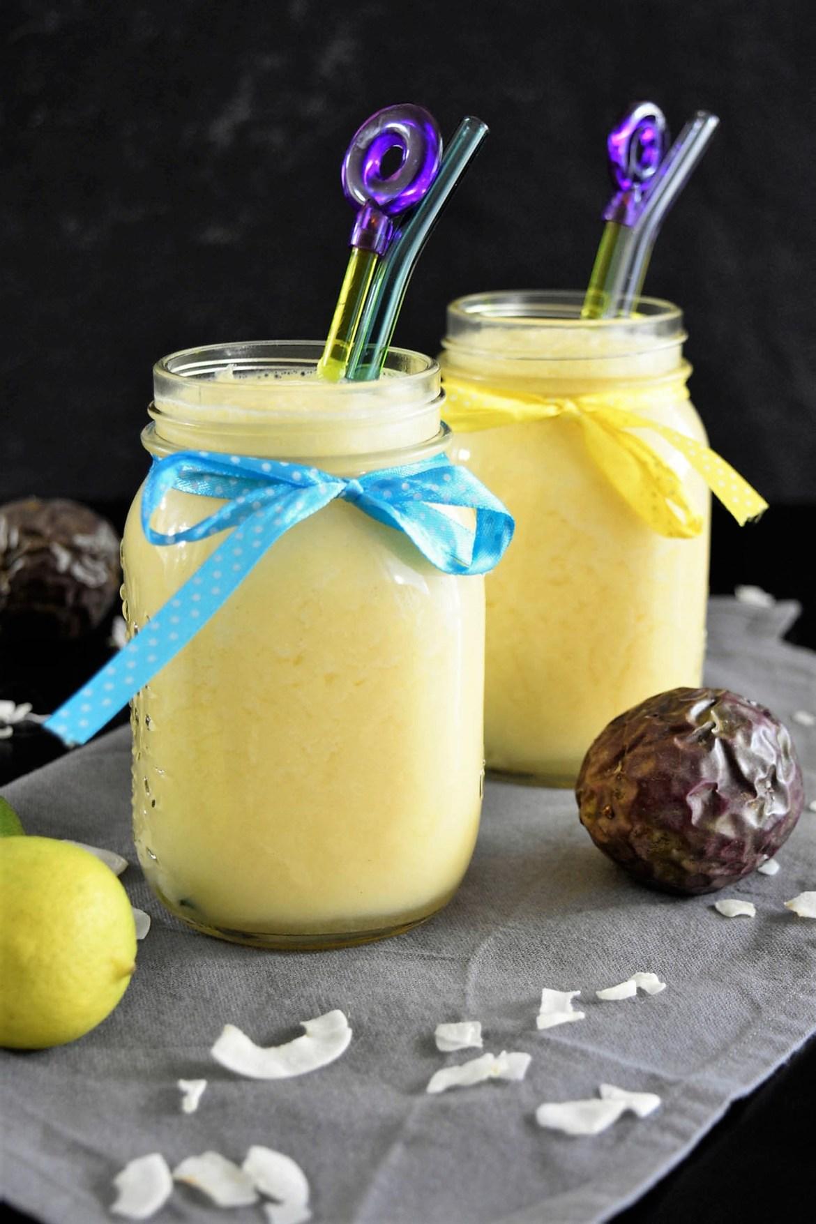 Pina Colada mit Kokos Eis Rezeptideen-BallesWorld