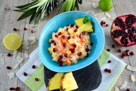 Exotisches Reis Dessert-Rezept-ballesworld