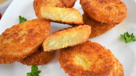 Maniok Schnitzel