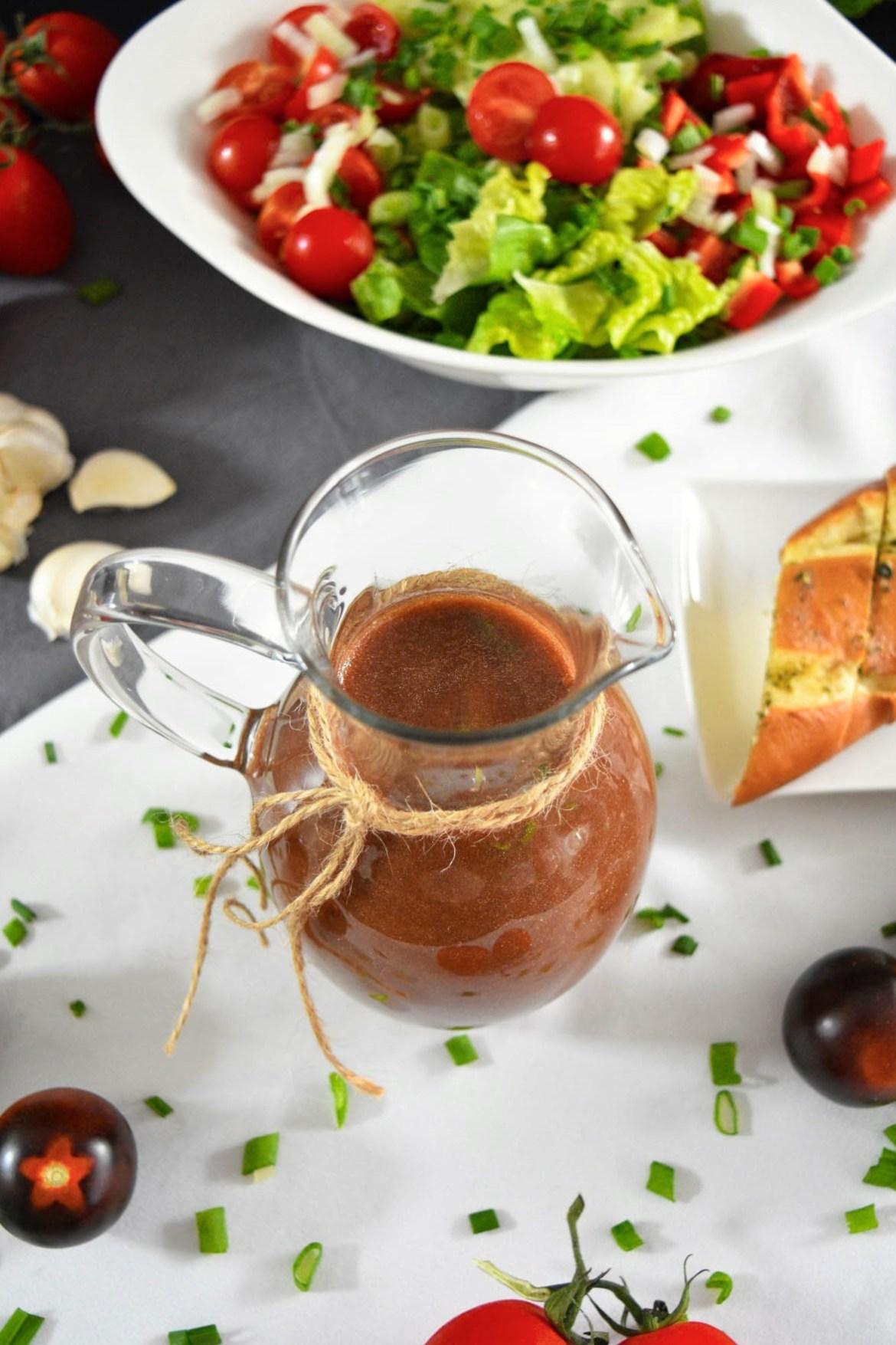Tomaten-Balsamico Dressing-Salat-BallesWorld