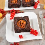 Schoko Brownies mit Aprikosen-Rezept-ballesworld