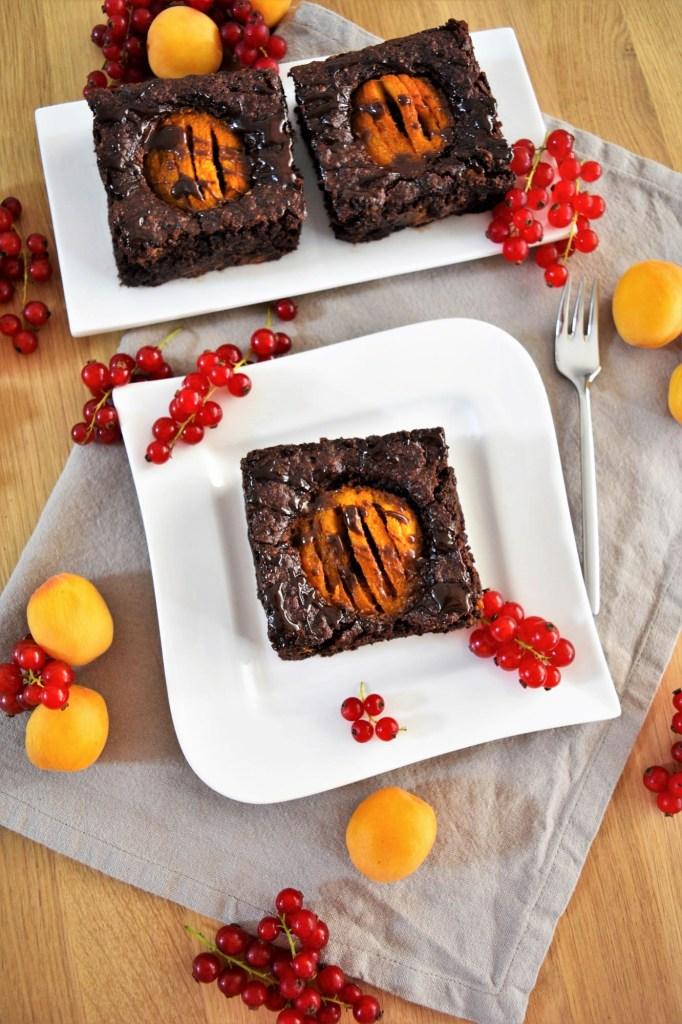 Schoko Brownies mit Aprikosen-Rezeptideen-ballesworld