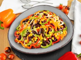 Tex-Mex Salat-Rezept-ballesworld