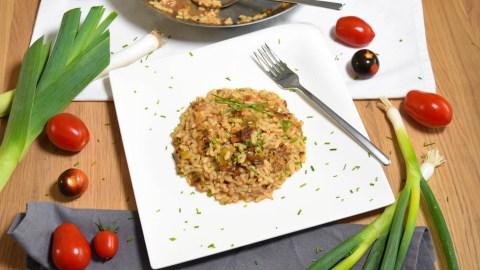 Reis-Lauch-Tomaten Auflauf