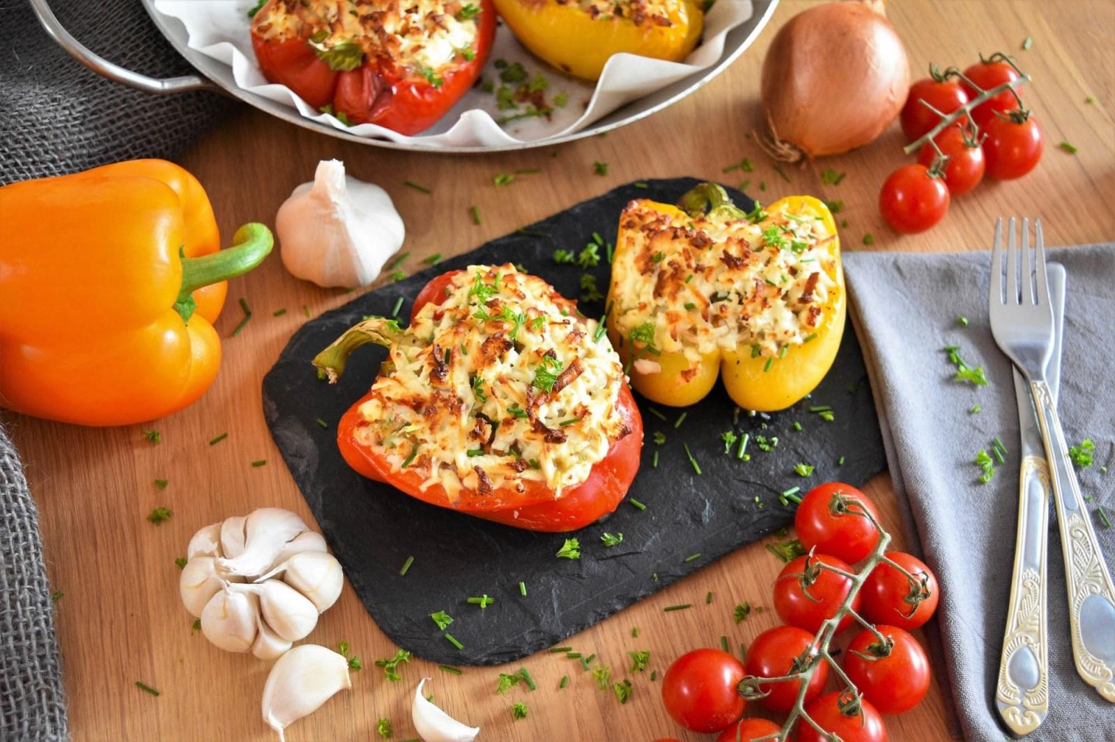 Gefüllte Paprika mit weißen Bohnen-Rezept-ballesworld