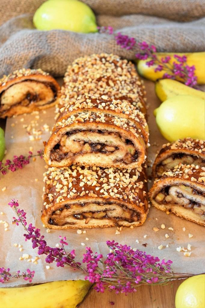 Bananen-Nutella Strudel-Dessert-ballesworld
