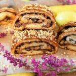 Bananen-Nutella Hefeteig Strudel-Rezept-ballesworld