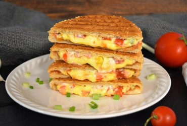 Sandwich vom Kontaktgrill-Rezepte-ballesworld