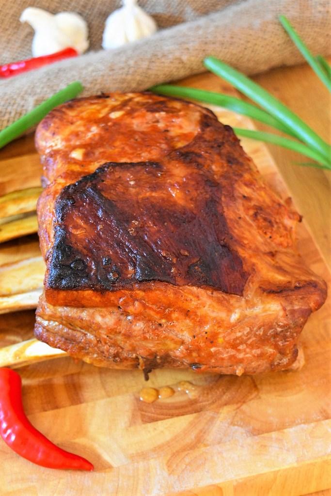Geschmorte Dicke Rippe nach BBQ Art-Ofenfleischgerichte-ballesworld