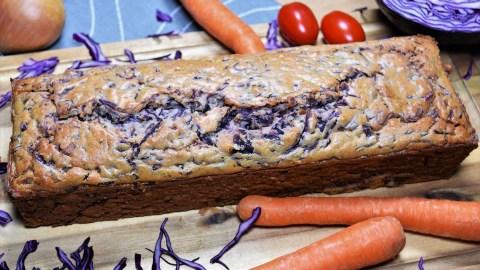 Rotkohl-Möhren-Kuchen