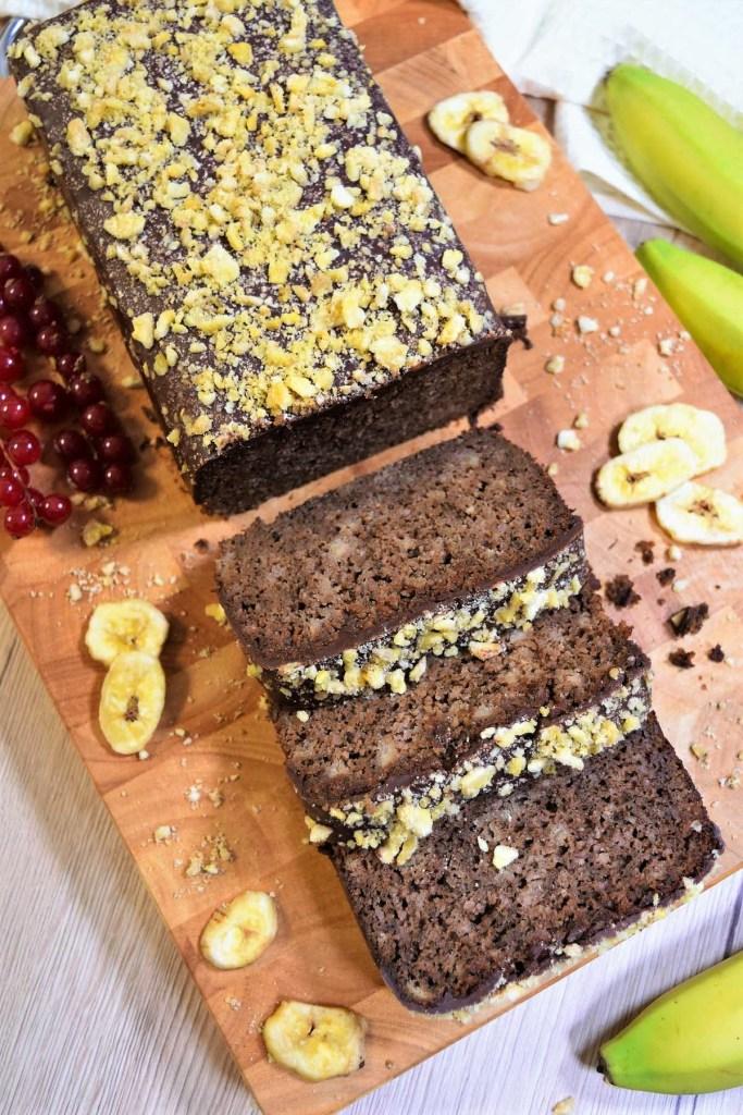 Bananen Kasten Kuchen-Backen-ballesworld