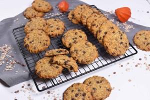 Paranuss Müsli Cookies