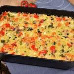 Couscous Weißkohl Auflauf mit Hähnchenbrust-Rezept-ballesworld