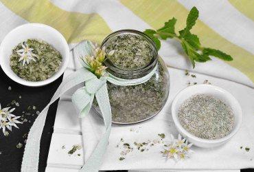 Bärlauch-Minze Salz-Rezept-ballesworld