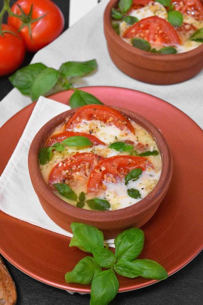 Tomate Mozzarella vom Grill-Gesund-ballesworld