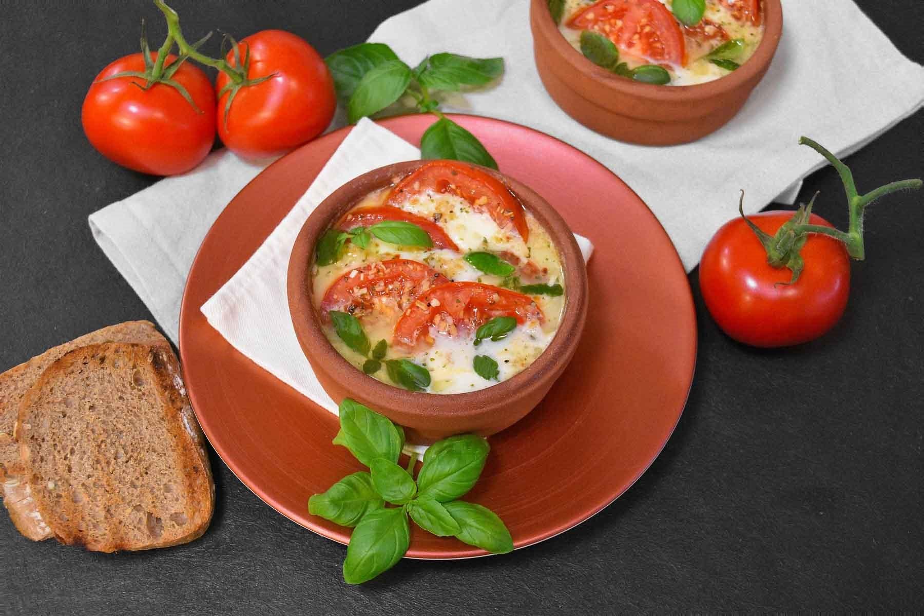 Tomate Mozzarella vom Grill