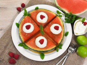 Karamellisierte Wassermelone-Rezept-ballesworld