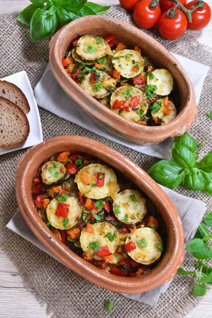 Zucchini-Auflauf nach Omas Art-Vegan-ballesworld