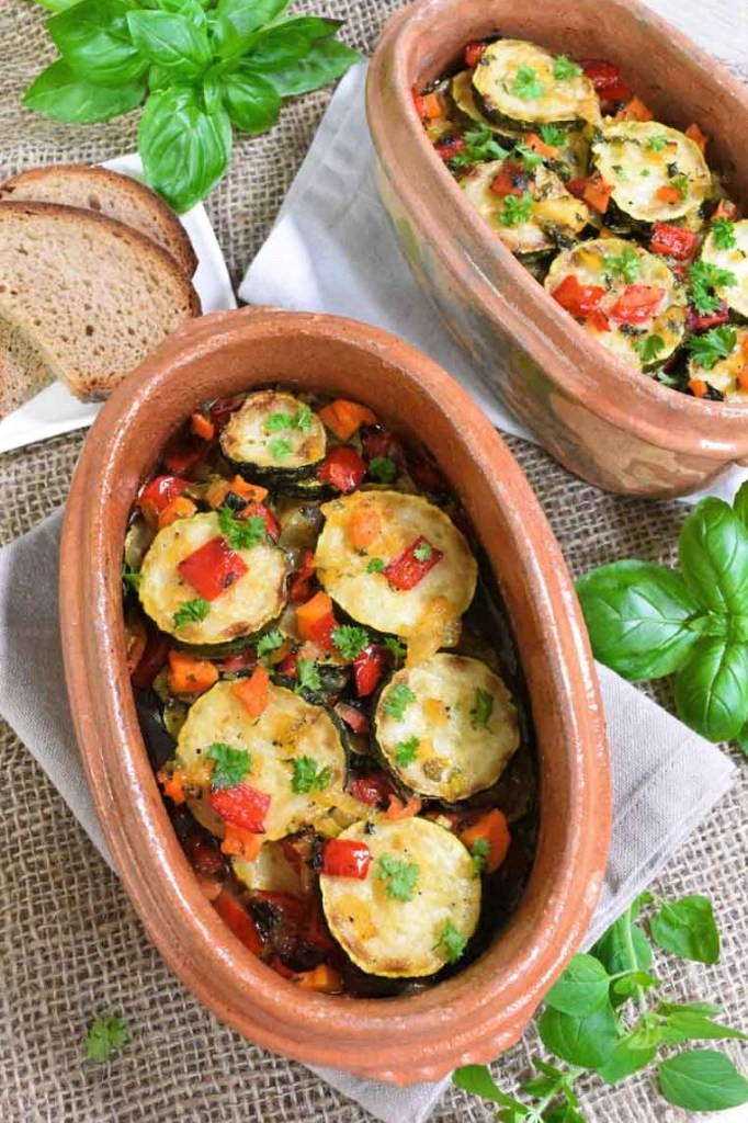Zucchini-Auflauf nach Omas Art-Vegetarisch-ballesworld