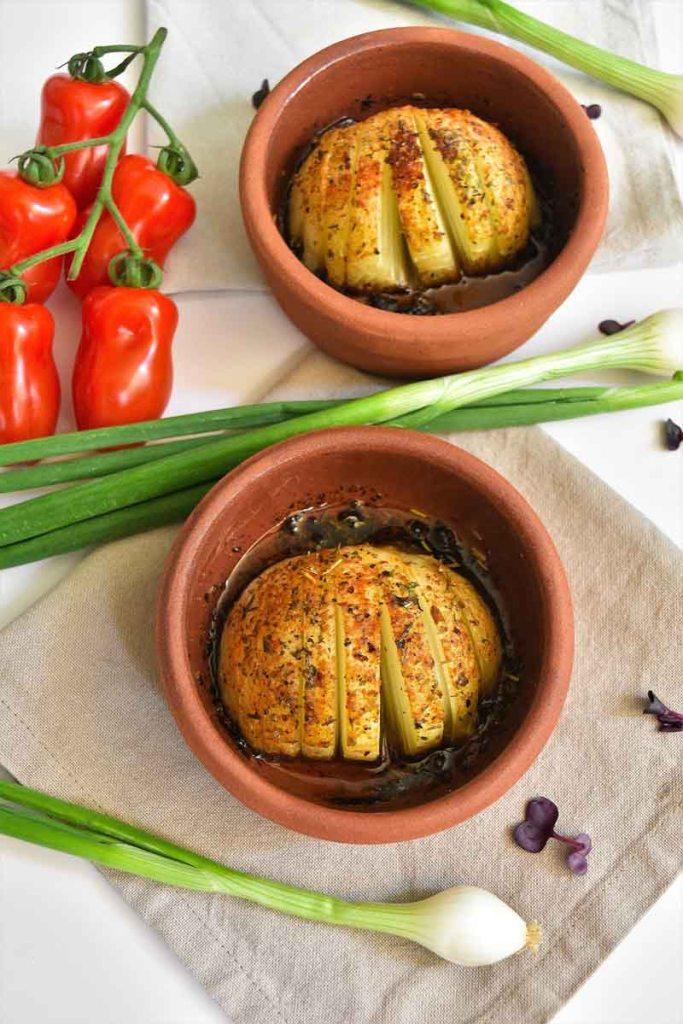 Zwiebeln vom Grill-Grill Gemüse-ballesworld