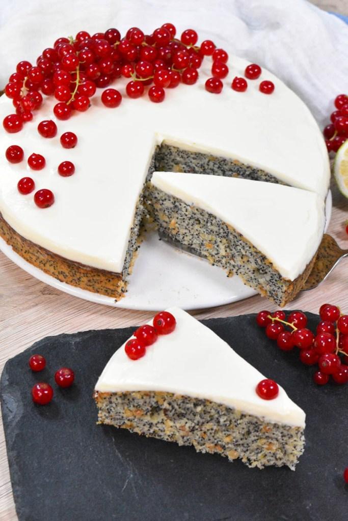 Mohn-Nuss-Rum Kuchen-Torten-ballesworld