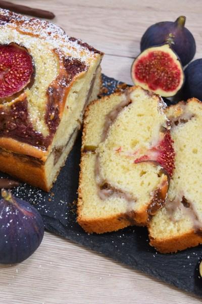 Kastenkuchen mit frischem Feigenmus-Rezept-ballesworld