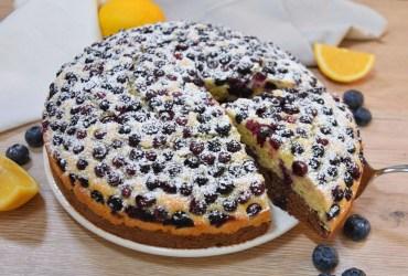 Schoko-Vanille Kuchen mit Heidelbeeren-Rezept-ballesworld