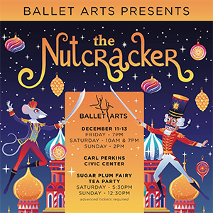 Friday Show: Ballet Arts of Jackson Nutcracker 2020