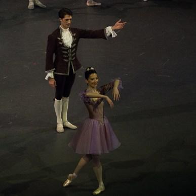Hannah O'Neill et Mathieu Ganio