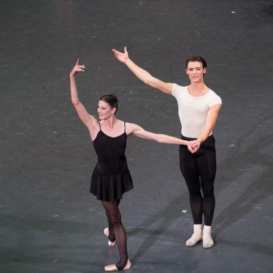 Marie-Agnès Gillot et Hugo Marchand