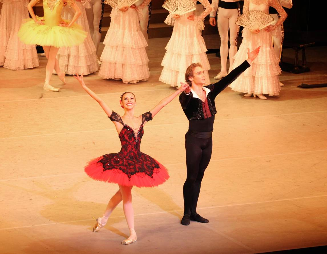 Kristina Kretova and Mikhail Lobukhin, Don Quixote-7-23-14, Bolshoi Confidential Review